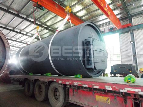 Waste Tire Pyrolysis Plant - Tyre to Oil Machine Price
