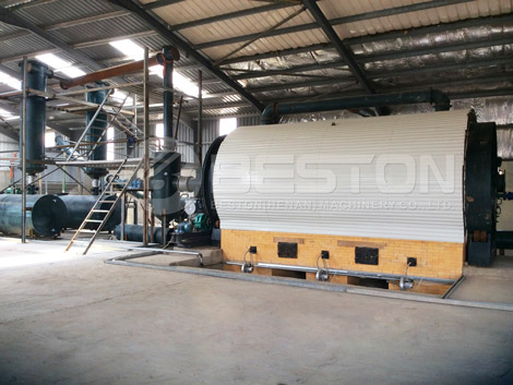 BLJ-10 Waste Tyre Pyrolysis Plant