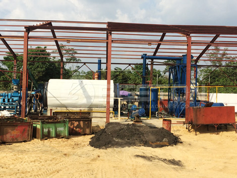 BLL-16 Waste Tyre Recycling Equipment