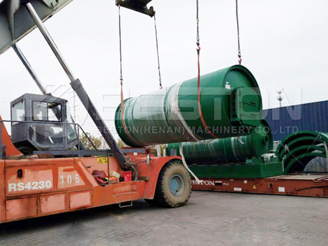 BLJ-10 Pyrolysis Plant To Canada